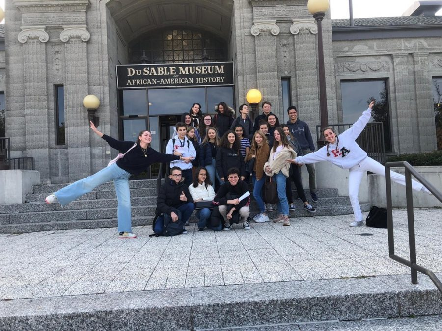 Architecture%2C+Halloween+Festivities%2C+and+The+Bulls%3A+2019+French+Exchange