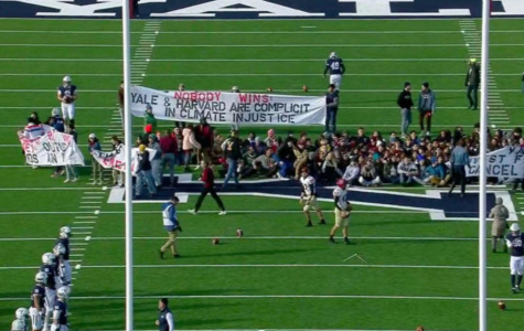 The Harvard-Yale Game Climate Protest