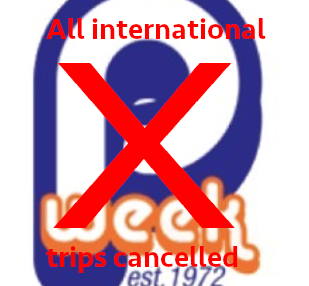 Breaking: All International P-Weeks Cancelled