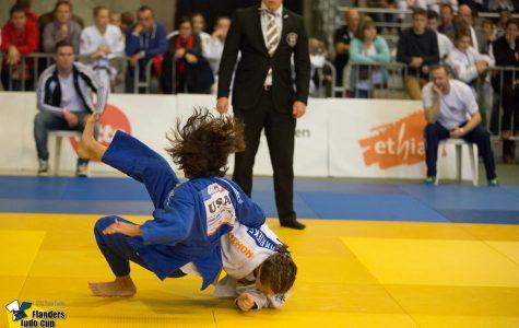 Alice Mihas takes on Ezra Van Der Krieke of the Netherlands