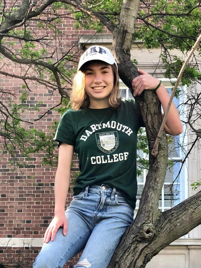 Allie Roehm is taking a gap year before attending Dartmouth in the fall of 2021.