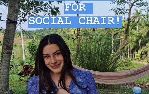 One of LAW's posts for non-male candidates, promoting junior Olivia Katz