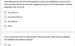 Remote Learning Feedback Model Has Room to Improve