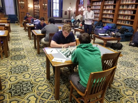 Senior Spotlight: Waleed Bitar, Latin's Chess Master