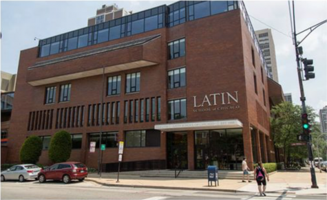 The Latin School as seen from North Ave