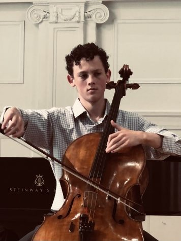 Senior Spotlight: Eytan Raviv, Latin's Enchanting Cellist