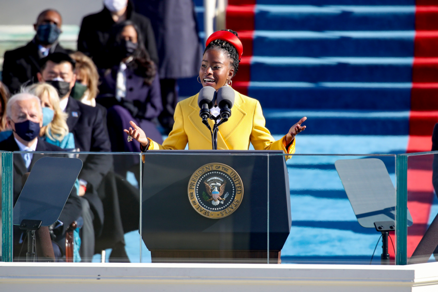 Inaugural Poem Brightens Students' Hopes For America