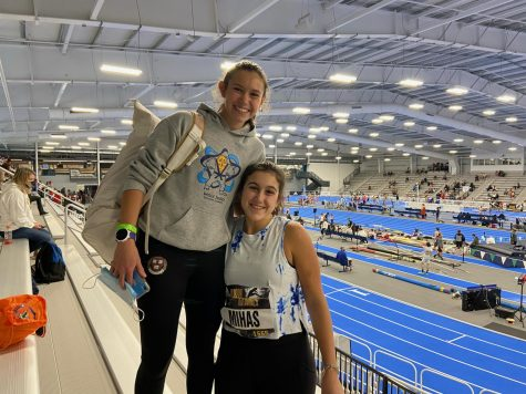 Ava Parekh Wins the Mile and Mihas Sisters Place Highly at Indoor Track and Field Nationals