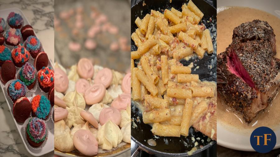 Keely's Kitchen: Cupcakes, Meringues, Carbonara, and Steak!
