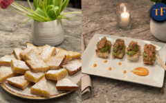 Keelys Kitchen: Lemon Bars & Crispy Rice and Ahi Tuna