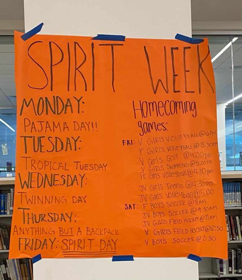 The Upper School student government held a spirit week in preparation for this weekends homecoming games.